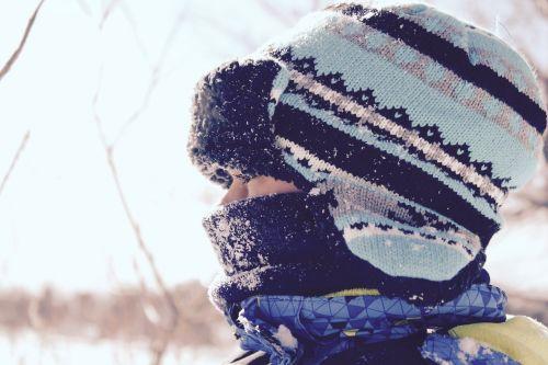 winter hat girl