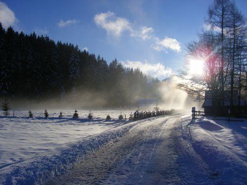 winter tatry poland
