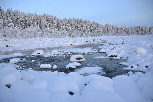 winter lapland sweden
