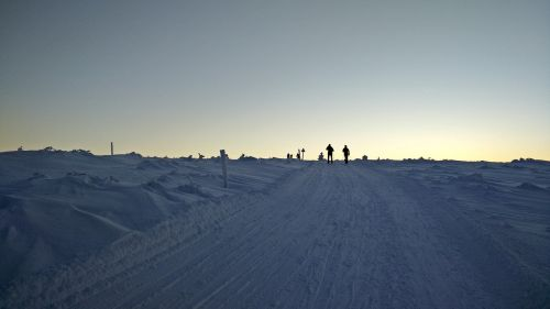 winter lapland fell