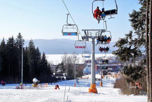 winter snow ski resort