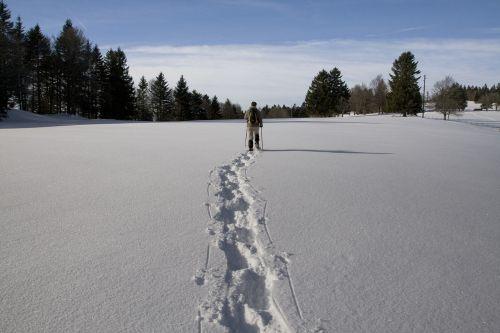 winter snowshoe jura