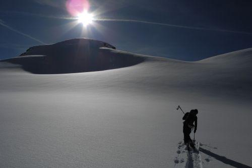 winter wintry deep snow