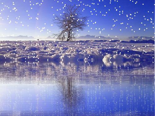 winter snow snowfall