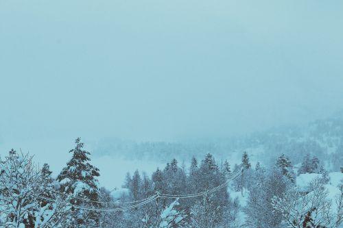 winter snow cold