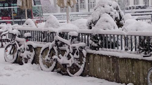 winter snow biel