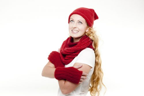 winter woman scarf