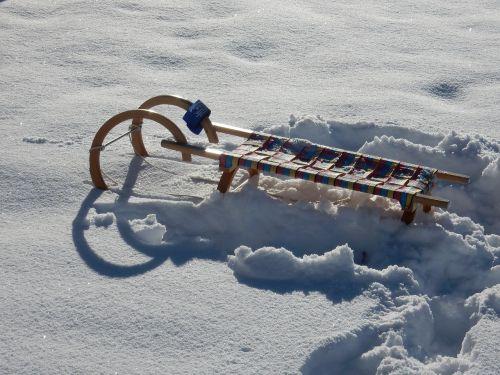 winter snow vehicle