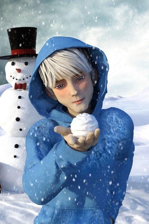 winter snow jack frost