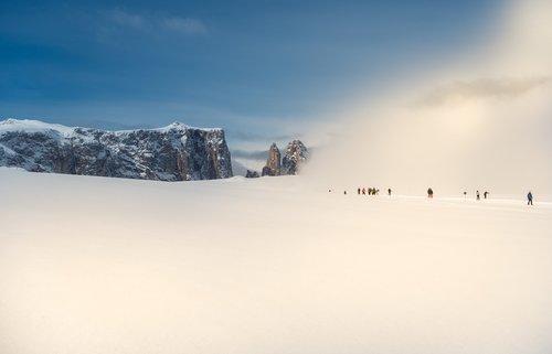 winter  snow  skiers