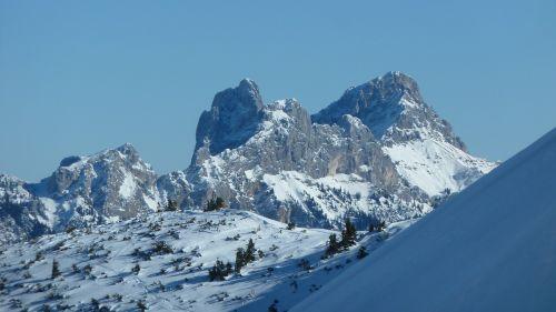 winter snow touring skis