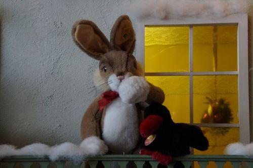 winter hare home