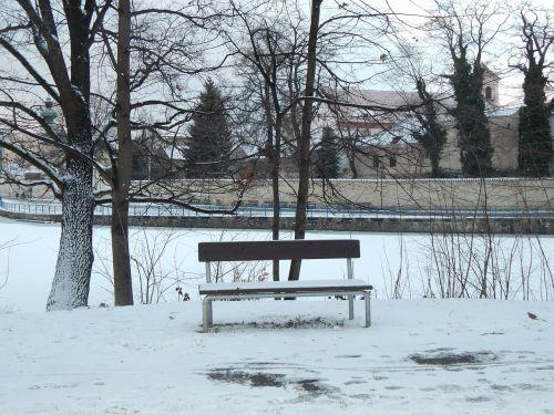 winter solitude snow