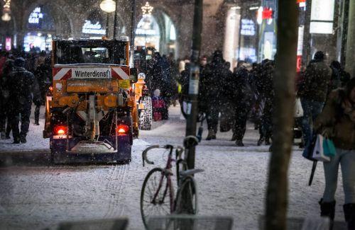 winter snow winter service