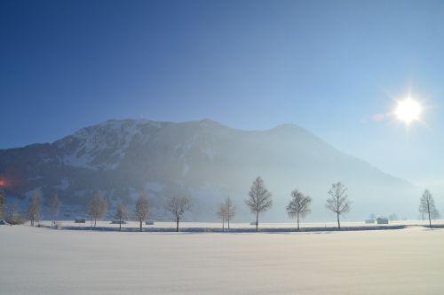 winter sun allgäu