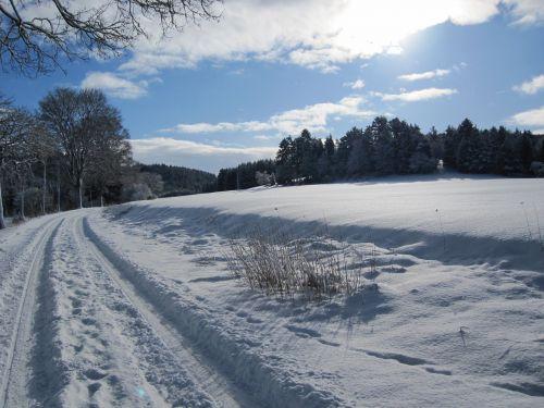 winter snow away
