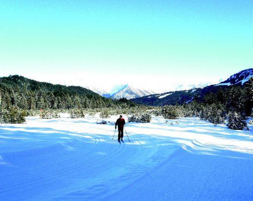 winter snow kleinwalsertal