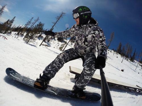 winter snow snowboard