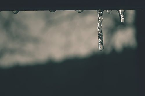 winter icicle ice