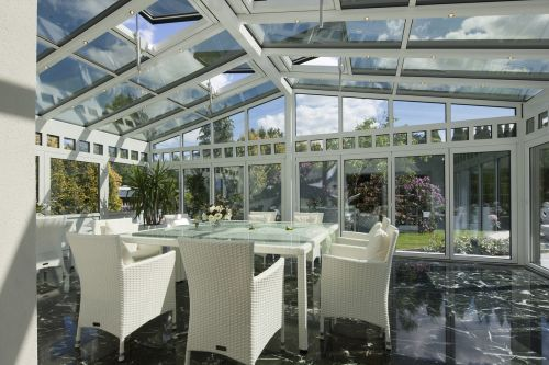 winter garden glass canopy