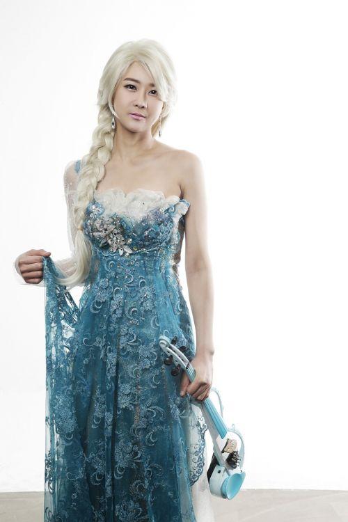 winter kingdom al-sa violin