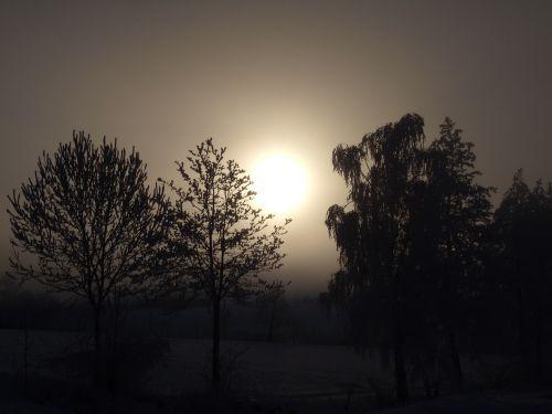 winter mood winter sun