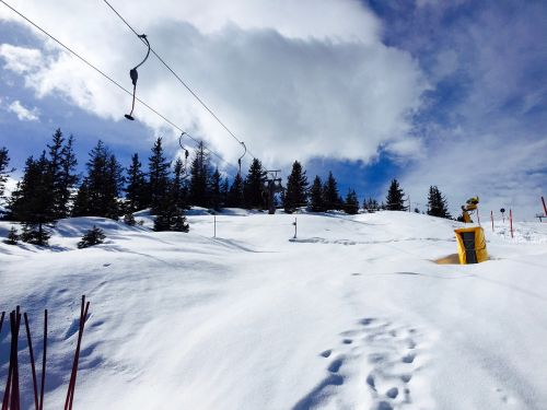 winter sports snow elevator