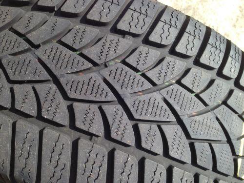 winter tyre profile tread