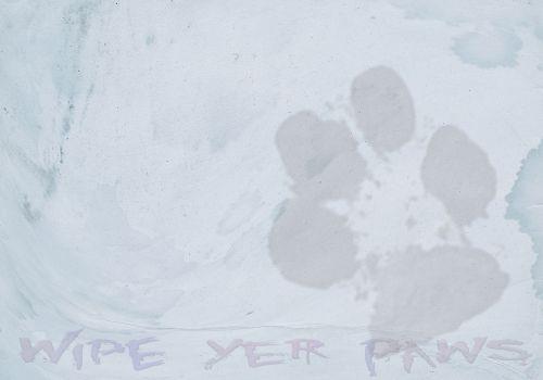 Wipe Yer Paws