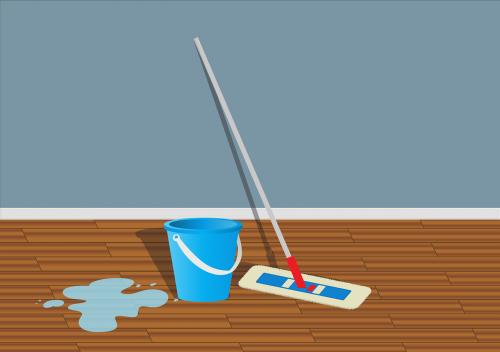 wiper bucket water