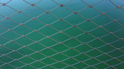 wire railing bridge railing