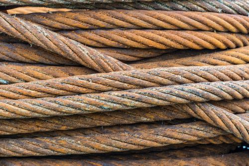 wire wire rope rust