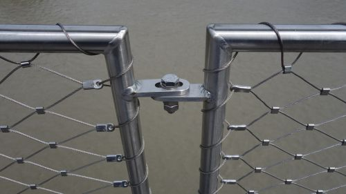wire pipes railing
