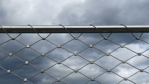 wire tube railing