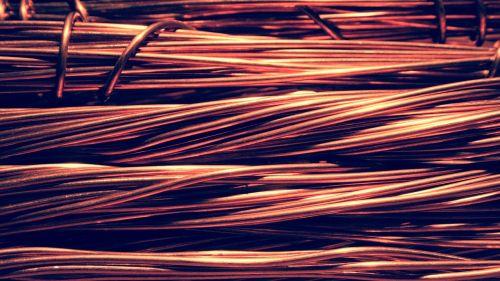 wire copper electric