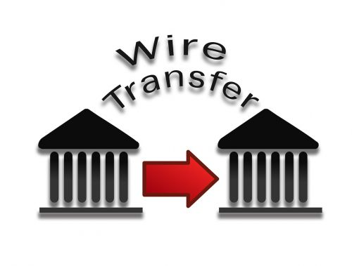 wire transfer payment pay payment