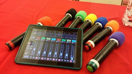 wireless microphone sound