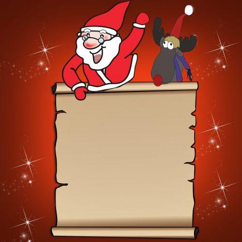 wish list santa claus reindeer