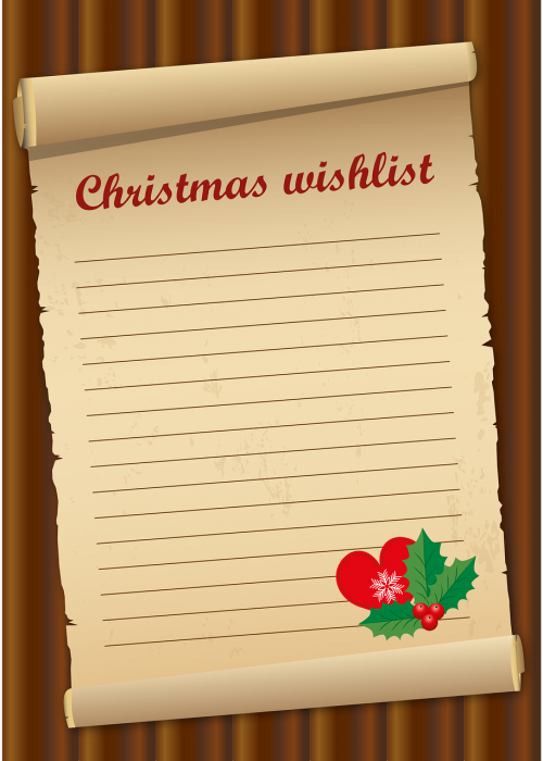 wish list christmas give