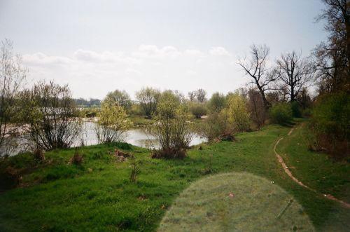 Vistula River Deblin, Poland