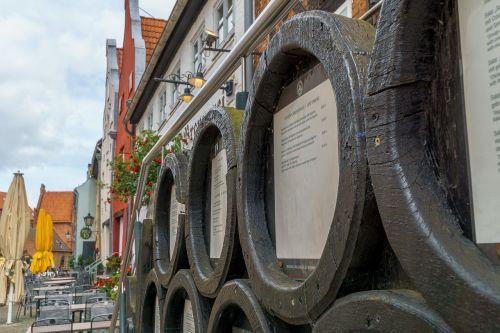 wismar brewery barrels