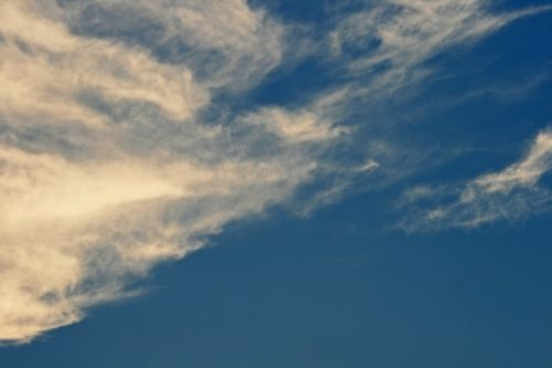 Wispy Tinted Clouds