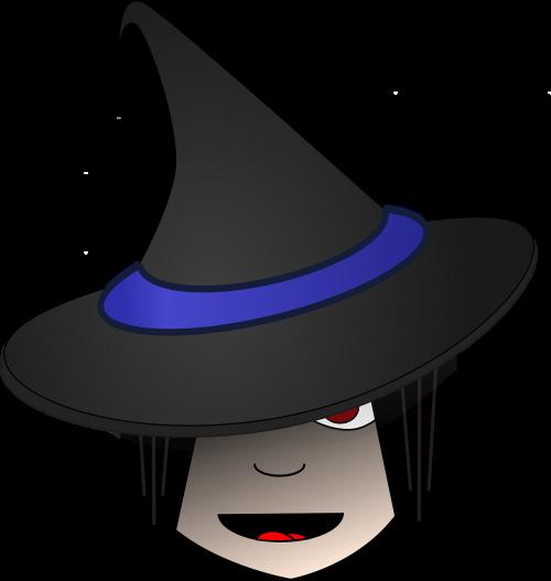 witch head halloween