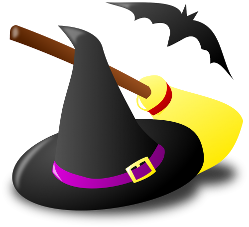 witch witchcraft broom