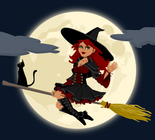 witch witchcraft broomstick