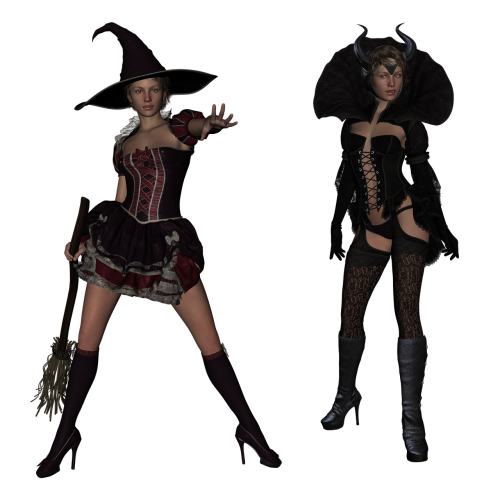 witch 3d fantasy