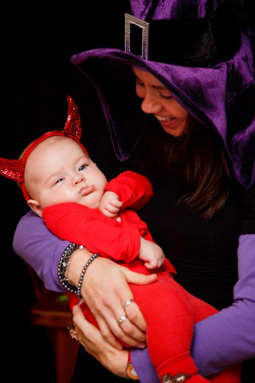 Witch And Baby Devil