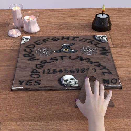 witch board occultism necromancy