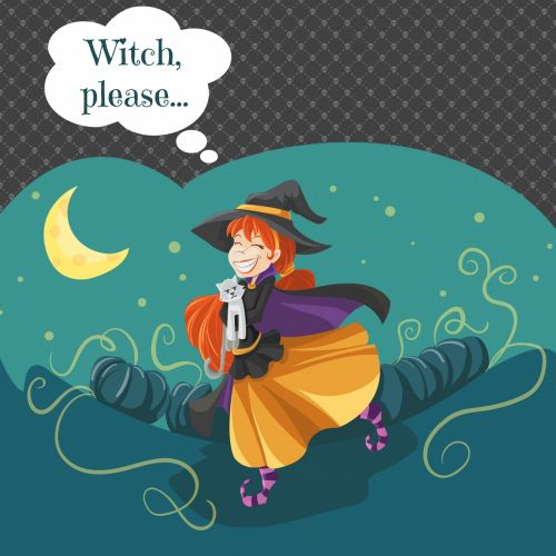Witch, Please Online Card