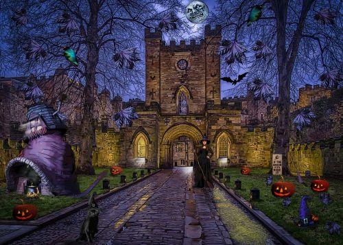 witches composite fantasy